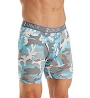 2UNDR Swing Shift Modal 6 Inch Printed Boxer Brief 2U01BB-P