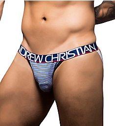 Andrew Christian Nautical Stripe Jock 90244