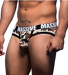 Andrew Christian Massive Camouflage Mesh Brief 90755