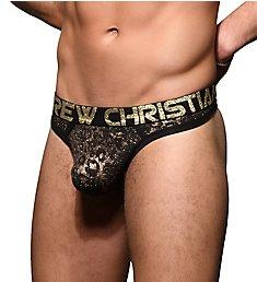 Andrew Christian Glam Animal Thong 91693