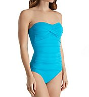 Anne Cole Live in Color Bandini One Piece Swimsuit 17MO501