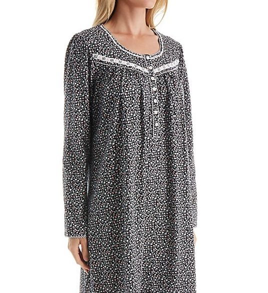 Aria Serenity Long Sleeve Short Nightgown 8017746