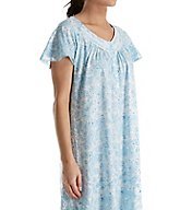 Aria Cotton Jersey Short Sleeve Short Nightgown 8017766