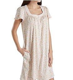 Aria Spring Short Sleeve Short Nightgown 8017836