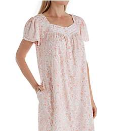 Aria Blooming Floral Short Sleeve Short Nightgown 8017846