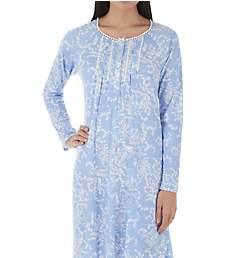 Aria Blue Ivy Long Sleeve Short Gown 8017891 192968ffe