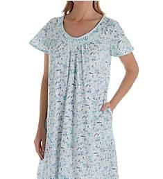 Aria Short Sleeve Short Gown 8017892
