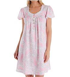 Aria Love Affair Short Sleeve Short Gown 8021912