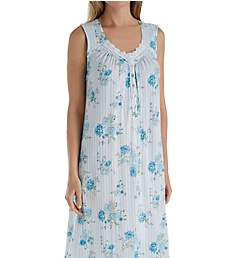 Aria Blue Afternoon Sleeveless Ballet Nightgown 8217845