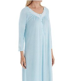 Aria Watercolor 3/4 Sleeve Ballet Nightgown 8217869