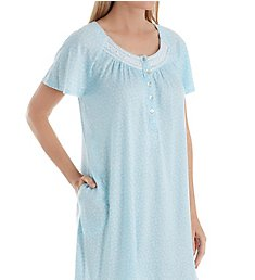 Aria Watercolor Short Sleeve Short Gown 8317869