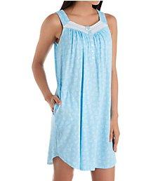 Aria Breeze Cotton Jersey Sleeveless Short Gown 8321929