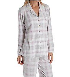 Aria Pink Dreams Brushed Waffle Fleece Long Sleeve PJ 8617888