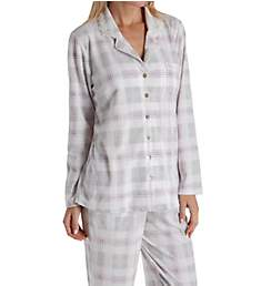 Aria Pink Dreams Brushed Waffle Fleece Long Sleeve PJ 8617888