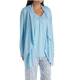Aria Blue Charm 3 Piece PJ Set 8717812