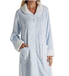 Aria Chenille Long Sleeve Ballet Zip Robe 8717814