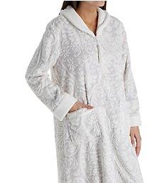 Aria Pink Dreams Embossed Chenille Ballet Zip Robe 8717889