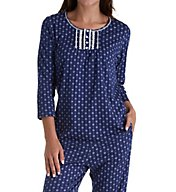Aria Ditsy Long PJ Set 8917803