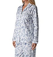 Aria Flannel Long Sleeve Pajama Set 8917815