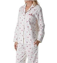 Aria Pink Dreams Cotton Brushed Flannel PJ Set 8917890