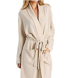 Arlotta Cashmere Classic Short Robe With Shawl Collar 2012