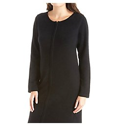 Arlotta Long Front Zipper Cashmere Robe 3329