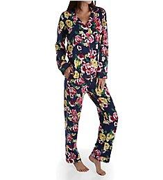 BedHead Pajamas Bella Rose Long Sleeve PJ Set 21221