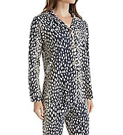 BedHead Pajamas Charcoal Lynx Long Sleeve PJ Set 2994