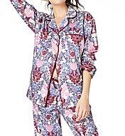 BedHead Pajamas Plum Chloe's Lace Long Sleeve PJ Set 6165