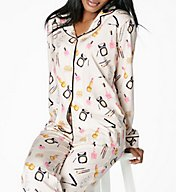 BedHead Pajamas Make Up Party Long Sleeve Pajama Set 7453