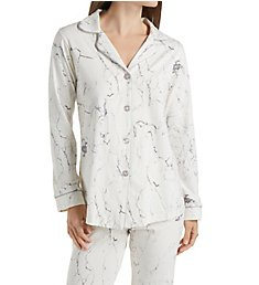 BedHead Pajamas Marble Long Sleeve PJ Set 7538