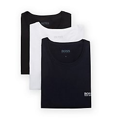 Boss Hugo Boss 100% Cotton Crew Neck T-Shirts - 3 Pack 0325887