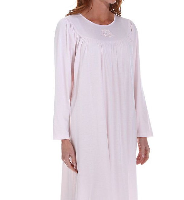 Calida Soft Cotton Long Sleeve Nightgown 33300