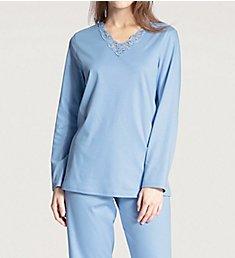 Calida Cosy Cotton Nights Pajama Set 40032