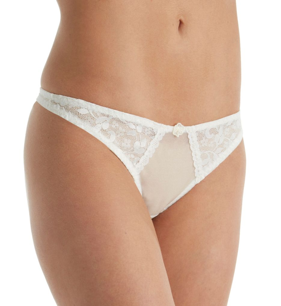 Carnival Satin Lace Thong 3023