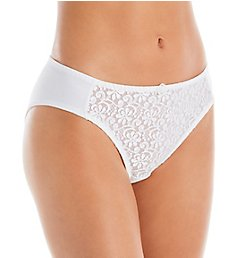 Carnival Tuxedo Lace Microfiber Low Rise Bikini Panty 3137