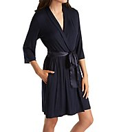 Carole Hochman Midnight Simple Slumber Short Robe 134730
