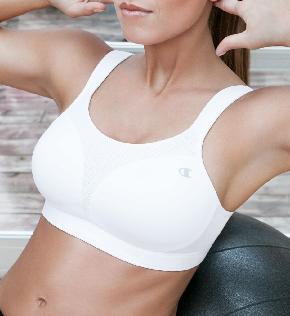 Champion Spot Comfort Max Support Molded Cup Sports Bra 1602