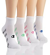Champion Performance Double Dry Ankle Socks - 4 Pair CH237
