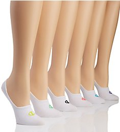 Champion Performance Invisible Liner Socks - 6 Pair CH304