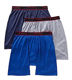Champion X-Temp Active Performance Long Boxer Brief -3 Pack CPLB