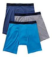 Champion X-Temp Performance Long Boxer Briefs - 3 Pack CXLB