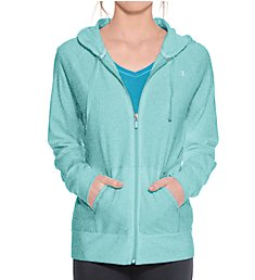 Champion Authentic Jersey Full Zip Hoodie Jacket J7418