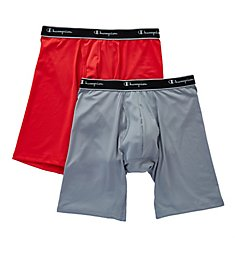 Champion X-Temp Tech Performance Long Boxer Briefs - 2 Pack TPLB