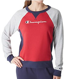 Champion Heritage French Terry Long Sleeve Crew W9493