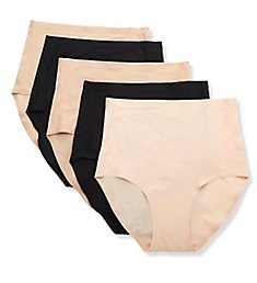 Chantelle Soft Stretch Seamless Brief Panty - 5 Pack 1006