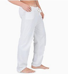 Cottonique Latex Free Organic Cotton Drawstring Lounge Pant M17708