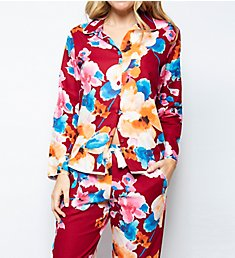 Cyberjammies Megan Floral Print PJ Set 4603Set