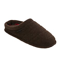 Dearfoams Quilted Clog Slipper With Memory Foam 80204