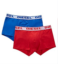 Diesel Shawn Cotton Stretch Trunks - 2 Pack S9DZGAFM
